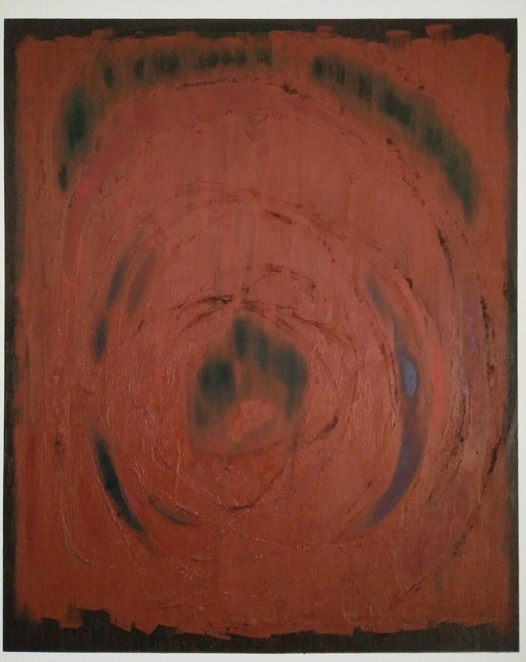 """""""Japanese veil""""/oil on canvas/107cmX87cm"""