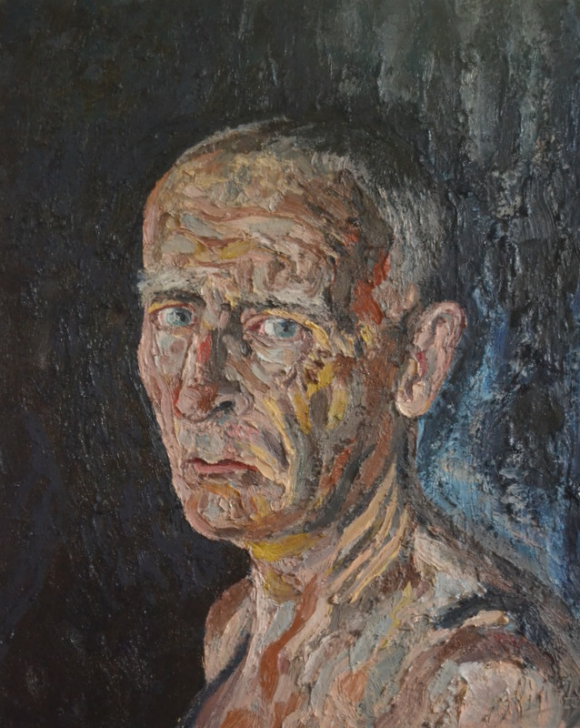 """""""Aging""""/oil on canvas/80cmX65cm"""