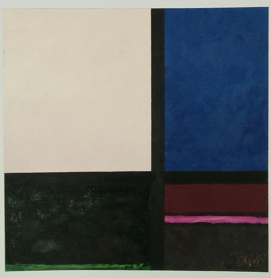 """""""Le soir - evening""""/oil on canvas/50cmX50cm"""