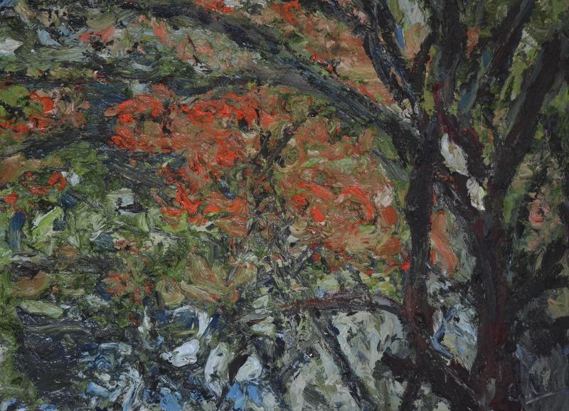 """McKean triptych left""/Oil on canvas/80cmX60cm"