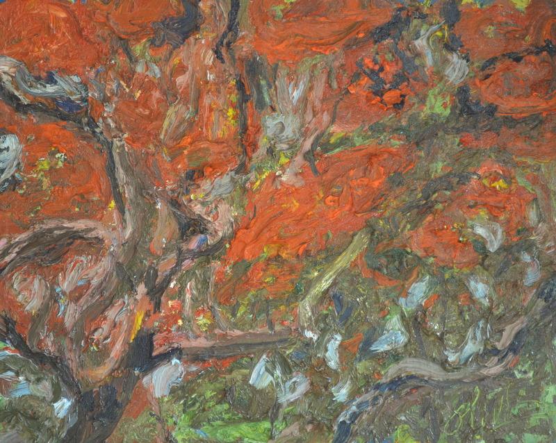 """McKean triptych right""/Oil on canvas/75cmX60cm"