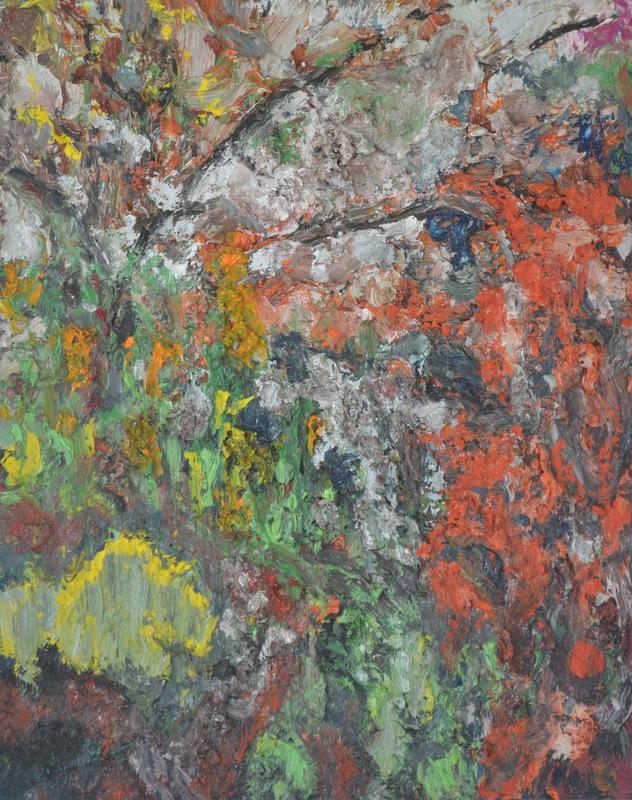 """McKean triptych middle""/Oil on canvas 60cmX75cm"