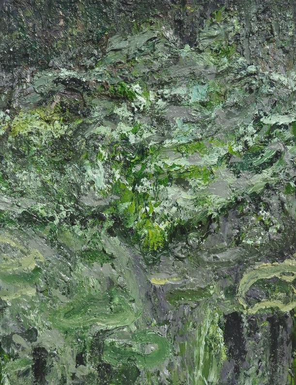 """""""Murmures dans la forêt""""/Oil on canvas/60X80 cm"""
