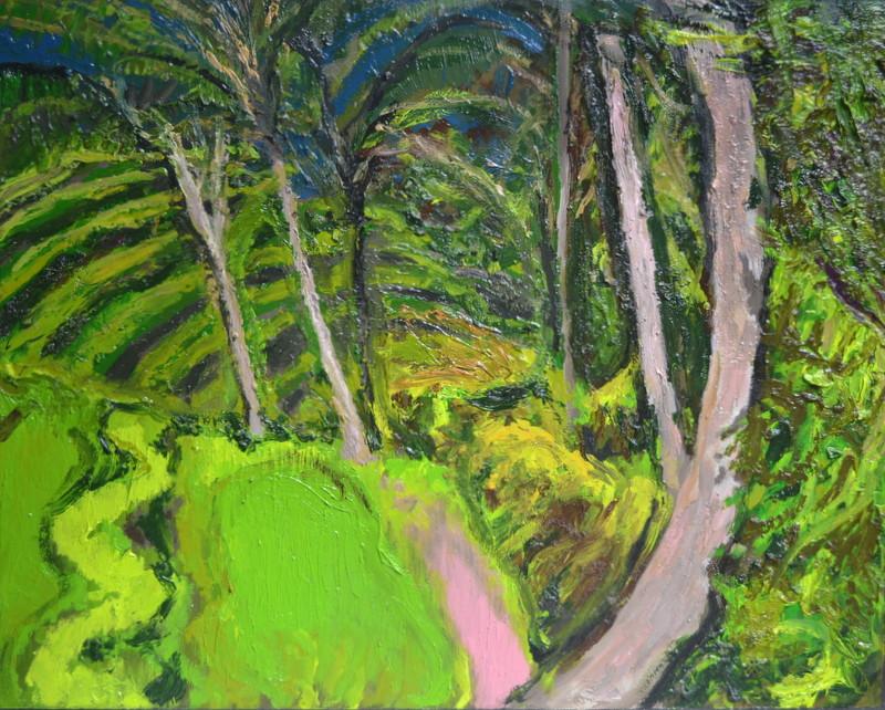 """""""La jungle""""/Oil on canvas/60X80 cm"""