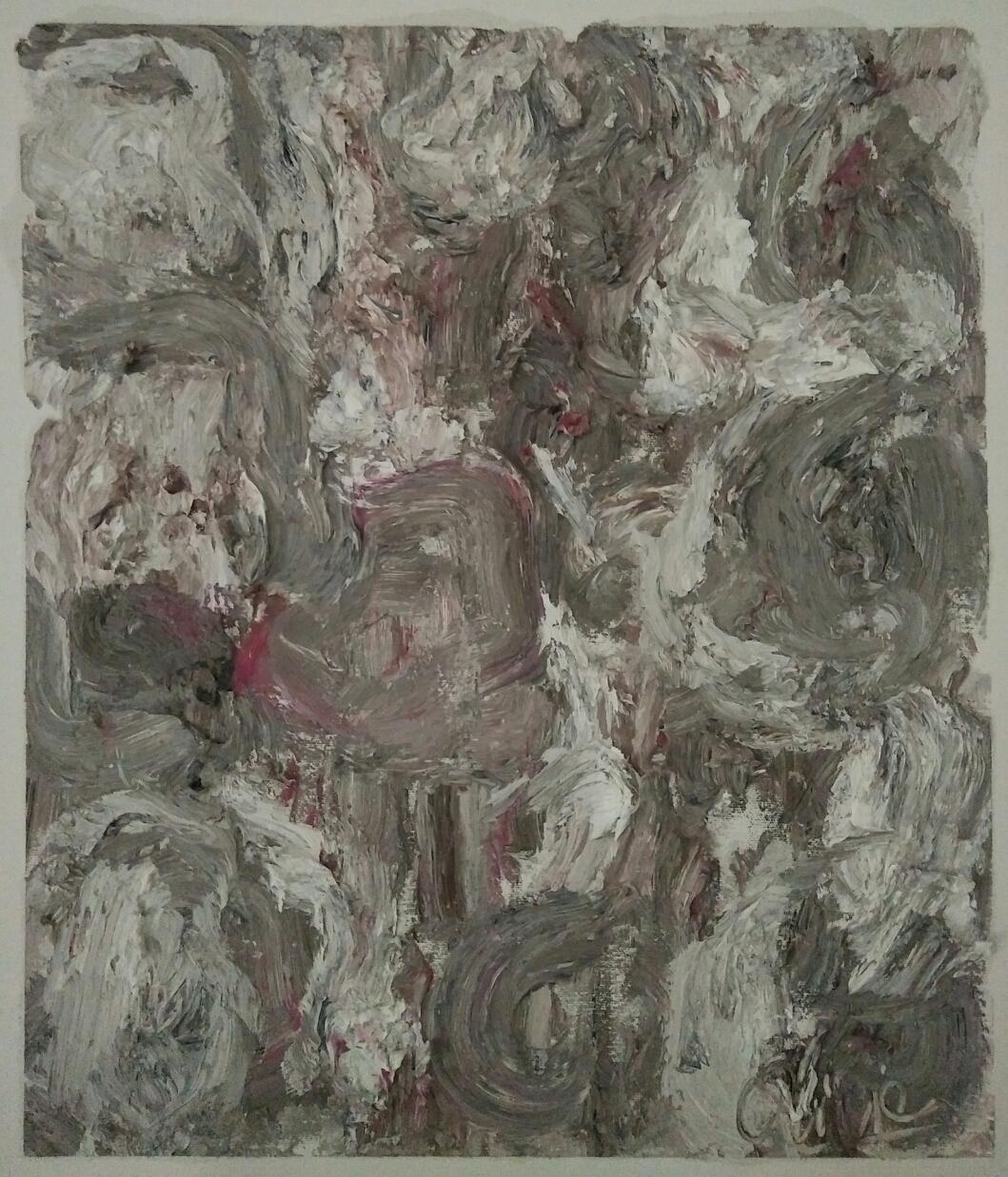 """""""Série 1""""/oil on canvas/50cmX42cm"""