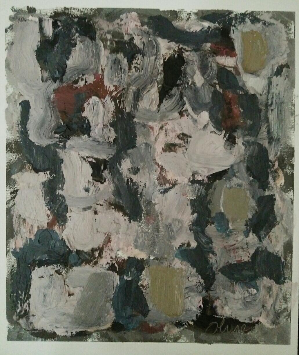 """""""Série 2""""/oil on canvas/50cmX42cm"""