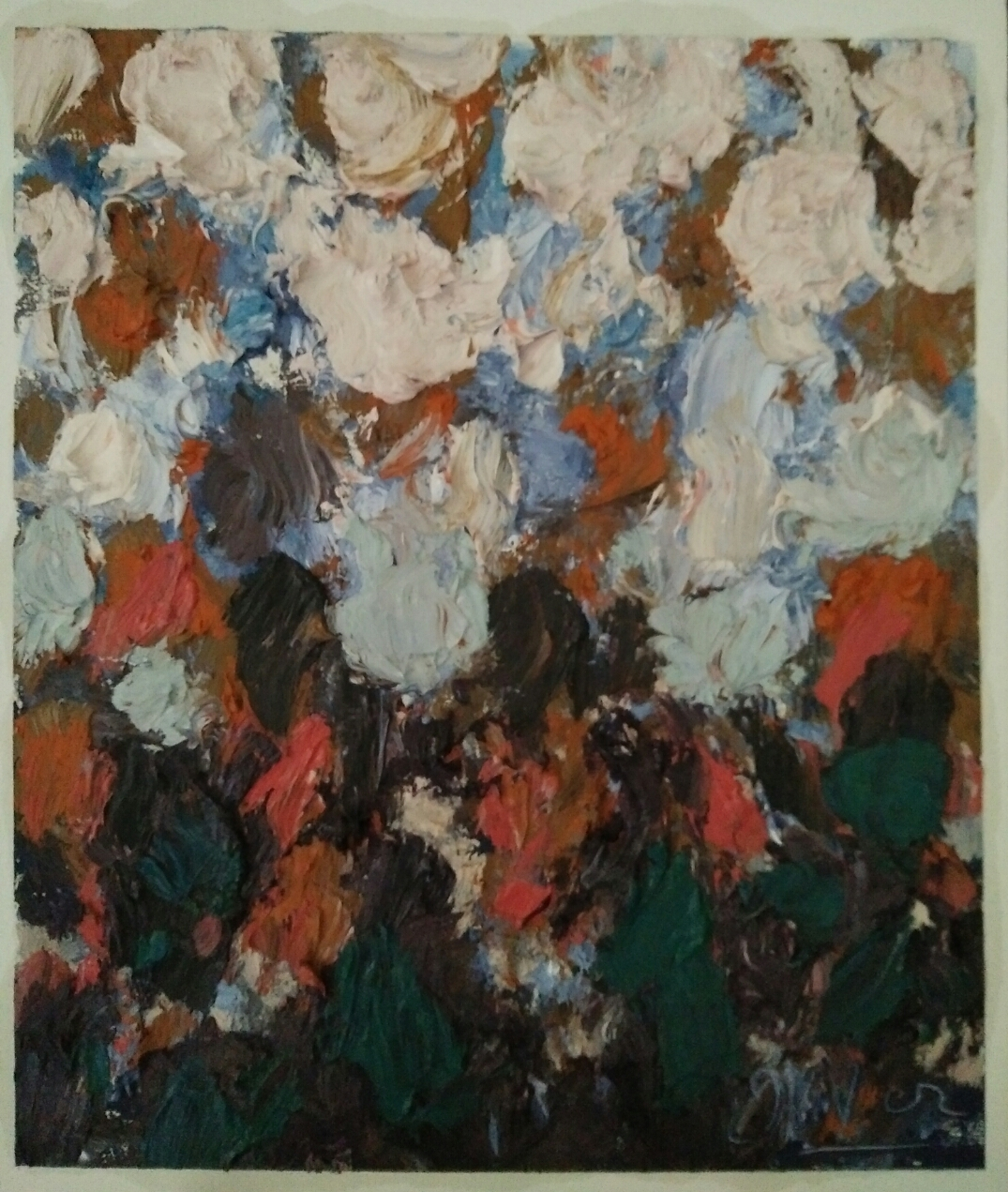 """""""Série 3/oil on canvas/50cmX42cm"""
