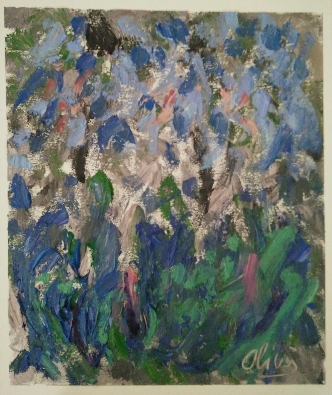 """""""Série 5""""/Oil on canvas/ 50cmX42cm"""