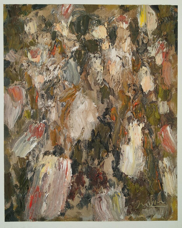 """""""Les lanternes. Loï Kratong""""/Oil on canvas/ 75cmX60cm"""