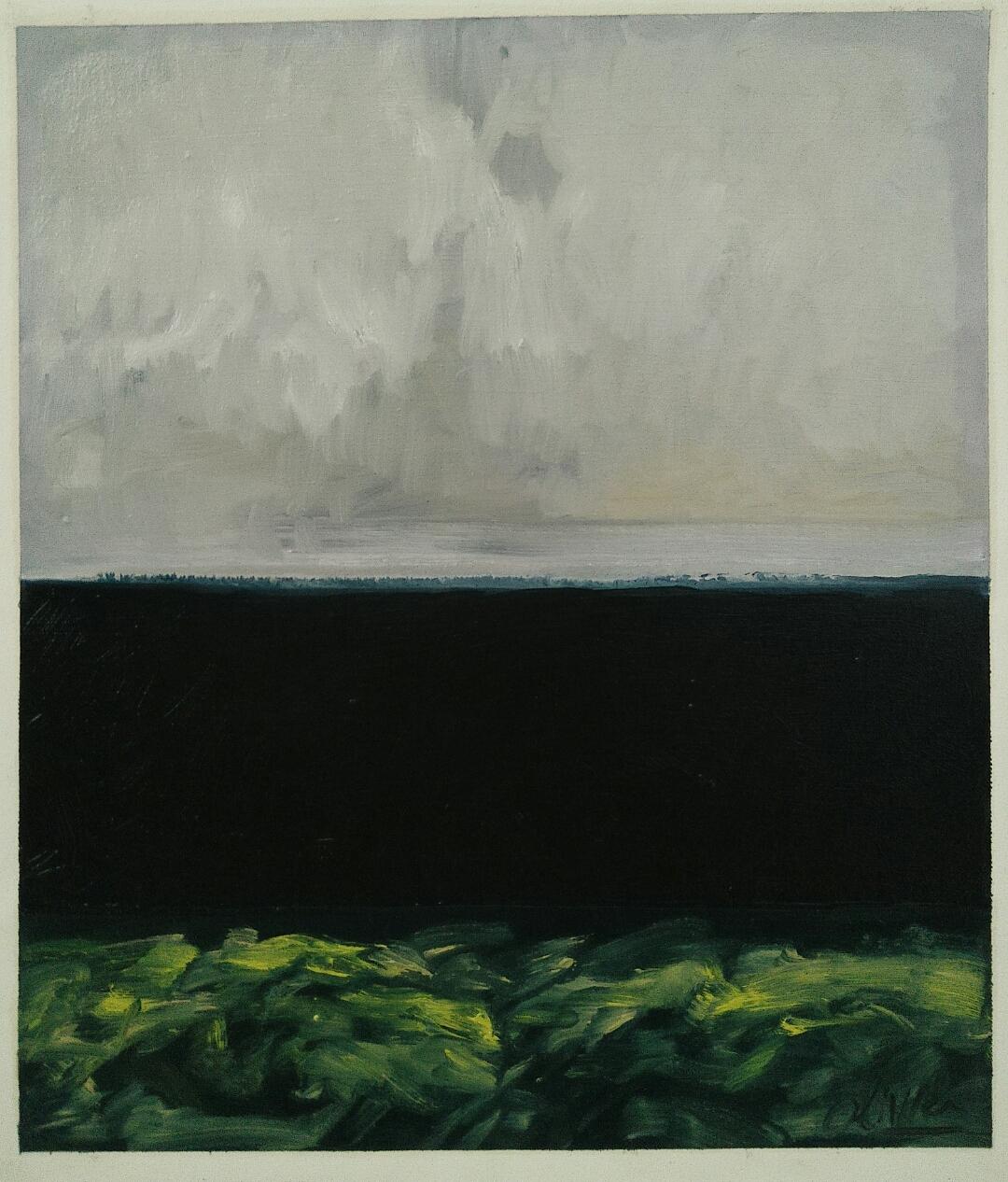 """""""Nostalghia""""/Oil on canvas/ 52 cmX 42 cm"""