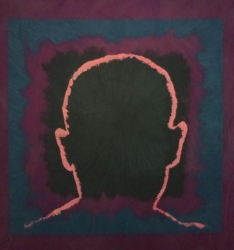 Mystery self. Oil on canvas. 30 cm x 30 cm